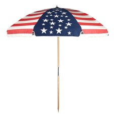 <strong>Frankford Umbrellas</strong> 7.5' Commercial Grade American Flag Beach Umbrella