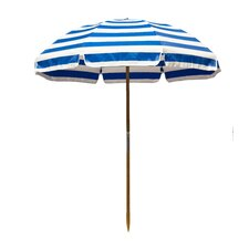 6.5' Shade Star Striped Beach Umbrella