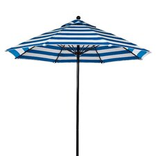 <strong>Frankford Umbrellas</strong> 7.5' Fiberglass Striped Market Umbrella