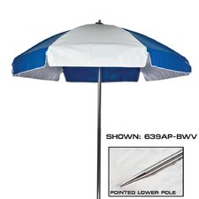 6.5' Striped Beach Umbrella