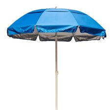 6' Lifeguard Solar Reflective Beach Umbrella