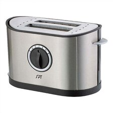 2-Slot Stainless Steel Toaster