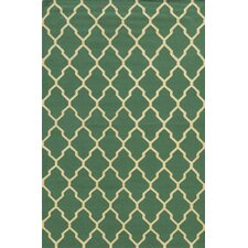 Swing Emerald Green Area Rug