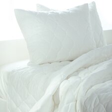 Solid Quilt 3 Piece Quilt Set in White