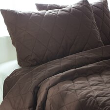 Solid 3 Piece Quilt Set