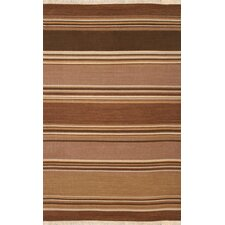 <strong>Rizzy Home</strong> Swing Brown Multi Rug