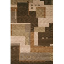 <strong>Rizzy Home</strong> Tango Brown Bubblerary Rug