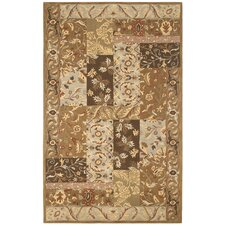 <strong>Rizzy Home</strong> Craft Rust/Beige Rug