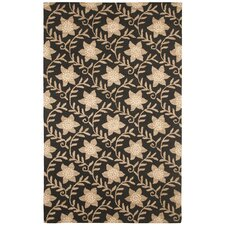 Country Black/Beige Bubblerary Rug