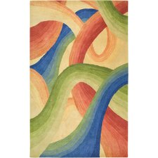 Colours Gold Multicolored Rug