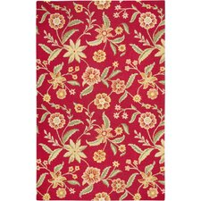 Country Red Rug
