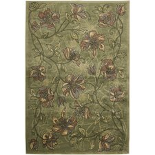 <strong>Rizzy Home</strong> Sorrento Green Rug