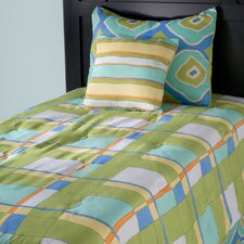 <strong>Rizzy Home</strong> Kids Plaid 3 Piece Comforter Set