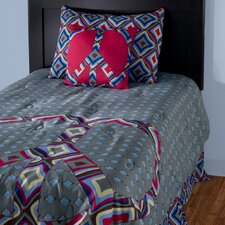 Kids Peace 3 Piece Comforter Set
