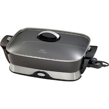 """16"""" Electric Skillet with Lid"""
