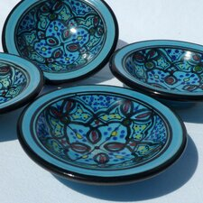 <strong>Le Souk Ceramique</strong> Sabrine Design Serving Dish (Set of 4)