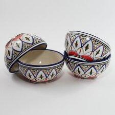 Tabarka Design 16 oz. Soup / Cereal Bowl (Set of 4)