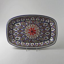 "Tabarka Design 13"" Rectangular Platter"