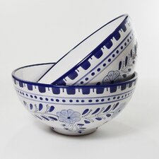 "Azoura Design 8"" Serving Bowl (Set of 2)"