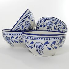 Azoura Design 16 oz. Soup / Cereal Bowl (Set of 4)