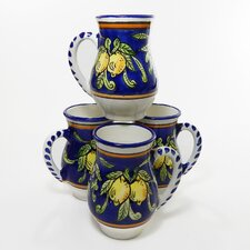 Citronique Design 16 oz. Large Mug (Set of 4)