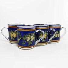 Citronique Design 12 oz. Coffee Mug (Set of 4)