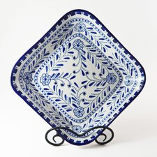 "Azoura Design 12"" Square Serving Bowl"