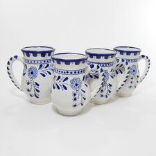 Azoura Design 16 oz. Large Mug (Set of 4)
