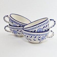 Azoura Design 14 oz. Latte and Soup Mug (Set of 4)