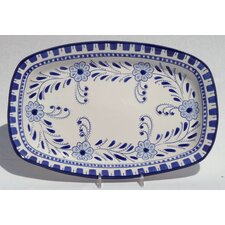 "Azoura Design 13"" Rectangular Platter"