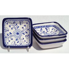 <strong>Le Souk Ceramique</strong> Azoura Design Serving Dish (Set of 4)