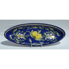 "Citronique Design 21"" Oval Platter"