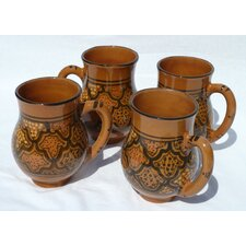 Honey Design 16 oz. Large Mug (Set of 4)