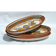 "Sauvage Design 4.5"" Oval Platter (Set of 4)"