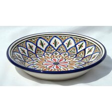 "Tabarka Design 9"" Pasta / Salad Bowl (Set of 4)"