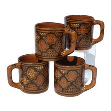 Honey Design 12 oz. Coffee Mug (Set of 4)