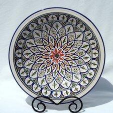 "<strong>Le Souk Ceramique</strong> Tabarka Design 14"" Serving Bowl"