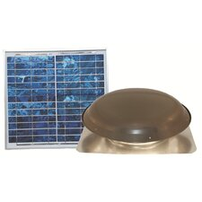 12.6W Solar Powered Roof Vent