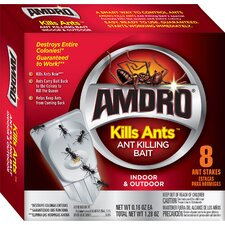 8 Count Kills Ants Bait Stakes