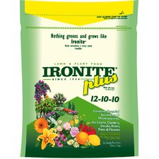 3 Lbs Ironite Plus Lawn and Plant Food