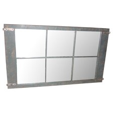 Rustic Metal Mirror