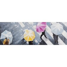 Rain Drop Wall Décor on Canvas