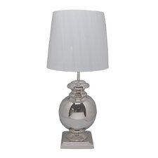 "Silas 20"" H Table Lamp with Drum Shade"