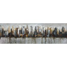Metropolis Painting Print on Canvas