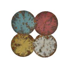 Distressed Circles Wall Decor
