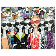 Fashion Painting Print on Canvas