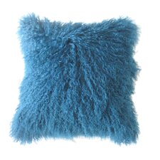 <strong>Moe's Home Collection</strong> Lamb Fur Wool Pillow