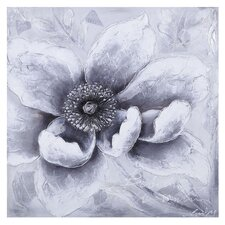 White Flower Wall Decor