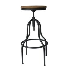 "Hana 26.8"" Adjustable Bar Stool"