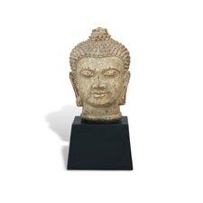 Zen Buddha Bust Sculpture